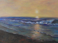 Sunrise, oil by Cynthia Streit Mazzaferro